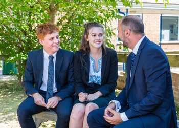 Sixth Form ready for 'Open Morning'