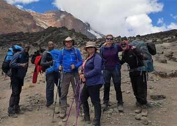 Key Stage 3 Student Manager climbs Kilimanjaro