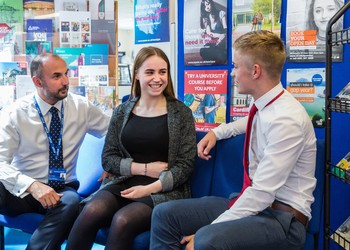 Yr 13 students undertake careers day