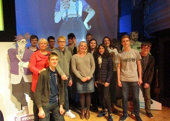 Yr 10 students are runners up in local Tech Festival