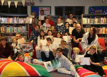 Pyjama Party in the Library!