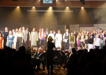 Les Miserables show a fantastic success