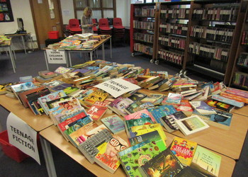 More than 400 books snapped up at annual book grab