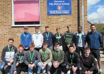 Sixth Form Football Team win football County League