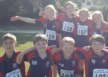 Bronze medal success for Year 7 at Park House Athletics competition