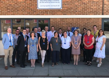 Productive Governors visit at The Downs School