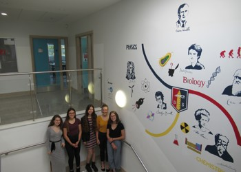 New mural unveiled in Science building