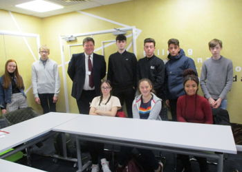 Year 11 students visit Westcoast Limited