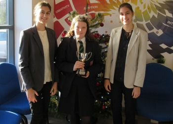 The Downs School wins Rotary Youth Speaks competition