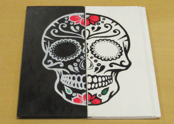 Students showcase their creative talents through 'Day of the Dead' competition