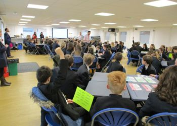 Westcost Limited deliver 'Bright Sparks' workshop to Year 7