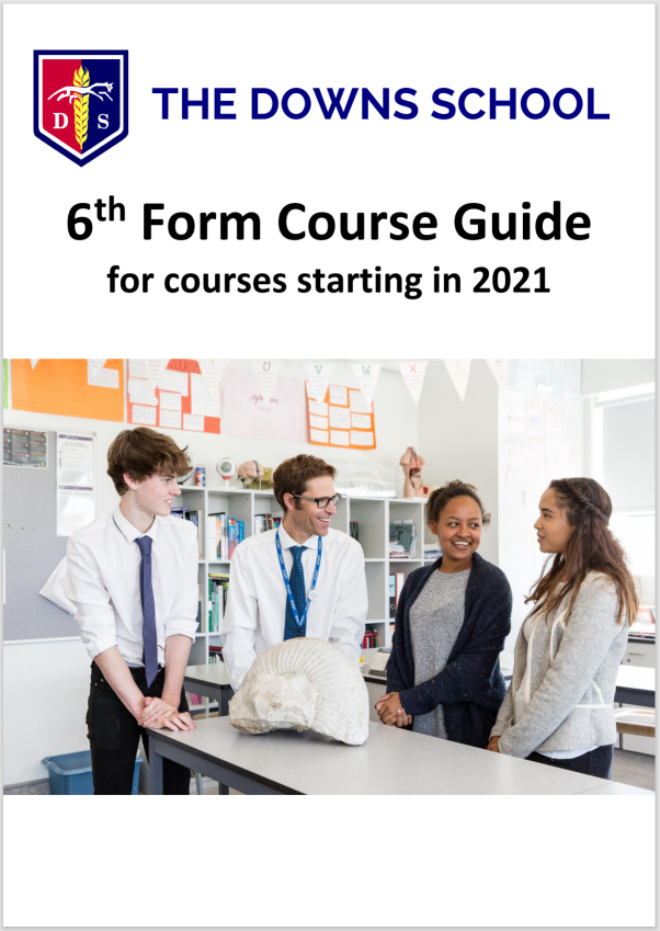 Sixth form course guide