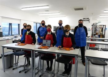 Opening of new Food Technology classroom