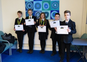 Year 7s raise £300 for local mental health charity