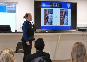 Year 9 students study links between crime and geography